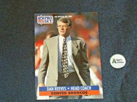 John Elway #7 Denver Broncos and Dan Reeves Trading Cards AA-19FTC3005a Vintage image 4