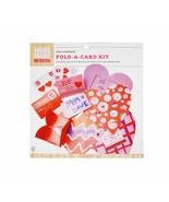 Hand Made Modern 18pc Fold-A-Card Kit Craft Accessories Send a Sentiment - $9.89