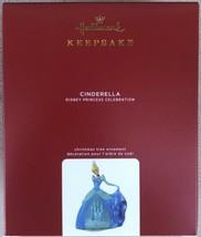 Hallmark 2020 Cinderella Disney Princess Celebration 1st In Series Ornament New - $42.95
