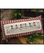 House Rules cross stitch chart LIttle House Nee... - $7.65