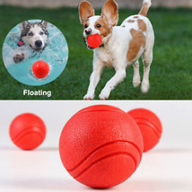 Solid Ball For Dog Toy Rubber Bite Resistant Fetch Pet Puppy Chew Playing S/M/L - $8.59