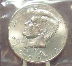 2000-D Kennedy Half Dollar BU In the Cello #0740 - $5.79