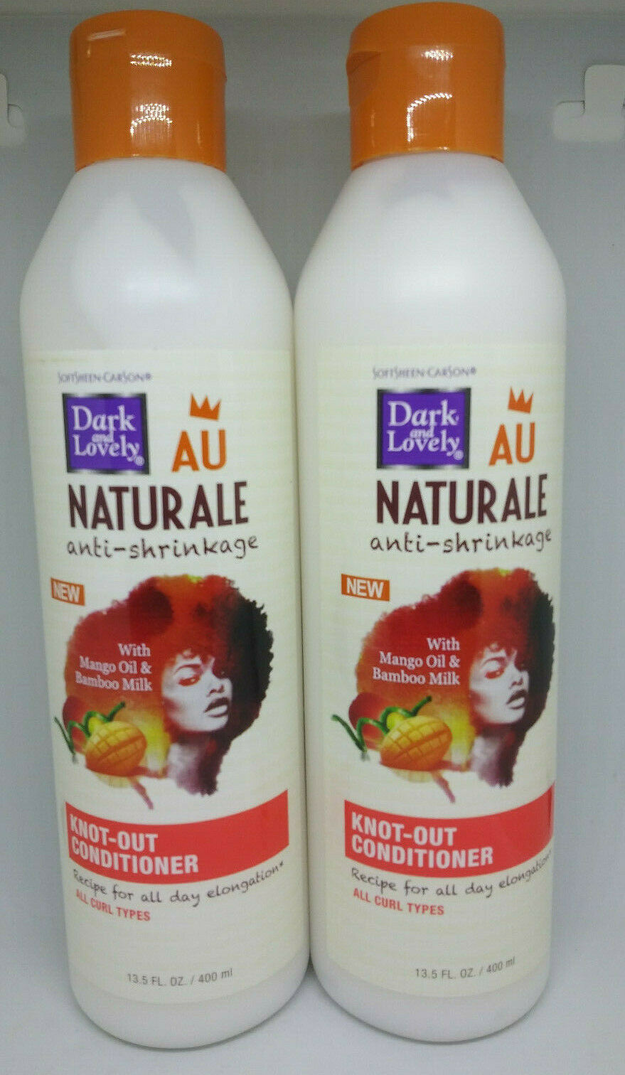 Primary image for 2 Pack Dark and Lovely Au Naturale Knot-Out Conditioner 14 oz