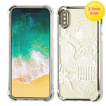 For APPLE iPhone XS/X Great Seal Klarity Electroplated Candy Skin Case C... - $13.39