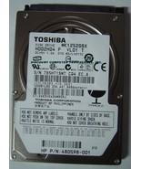 120GB 5400RPM 9.5MM SATA-150 2.5 INCH HDD2H04 TOSHIBA MK1252GSX Free USA... - $16.95