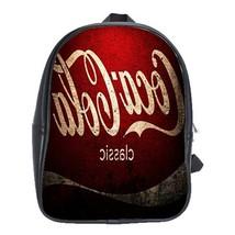 Backpack School Bag Coca Cola Classic Logo Symbol Soft Drink Atlanta Sports Game - $33.00