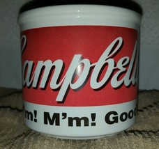 Campbell's Soup Cup Mug Bowl 1998 HH Heavy Thic... - $6.00