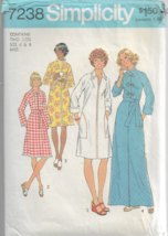 Vintage Simplicity  Pattern #7238-Misses Robes in Two Lengths-Sizes 6 & 8 - $8.56