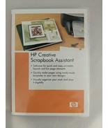 HP Creative Scrapbook Assistance Software CD 2003 Windows XP Apple OS 10 - $9.85
