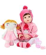 Aori Realistic Baby Doll Lifelike Reborn Baby Girl Doll 22 Inch with Plu... - $60.07