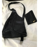 The Trend Women's Leather Purse And Chainge Purse Made in Italy  - $40.00