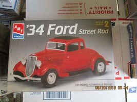 AMT 1934 Ford Street Rod 1/25 scale - $32.99