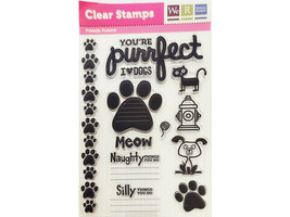 We R Memory Keepers Friends Furever Clear Stamp Set #42225-9