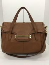 Coach Large Bag Taylor Brown Leather Flap Satchel Shoulder F28622 B2J - £70.00 GBP