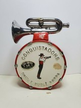 Vintage Conquistadors Drum & Bugle Commemorative Ezra Brooks Whiskey Decanter - $34.65