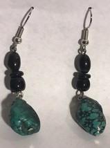 Women's Fashion Black Drop Earrings - $6.92