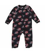 Carolina Hurricanes Baby Pajamas Raglan Footed Sleeper - $6.95