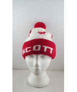 Vintage Wool Beanie / Toque - Scott Tournament of Hearts - Adult One Size - $45.00