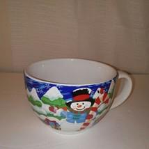 Christmas Winterland Snowman Coffee Mug - $15.84