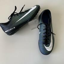 Nike JR Mercurial Vapor XI TF Kids Turf Shoes Sz US 5Y Soccer 831949-013 - $34.60