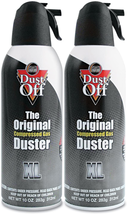 Dust-Off Disposable Compressed Gas Duster, 10 oz Cans, 2 Pack - $16.99