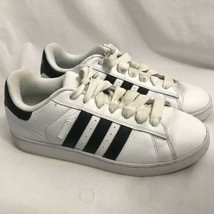 Adidas Campus Skate White and Black Shoes, Men's Size 12 - $28.49