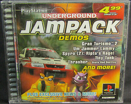 Underground Jampack Winter '99 Demo PS1 PSX - $9.74