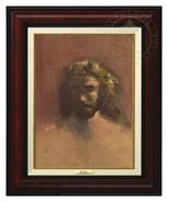 Thomas Kinkade -The Prince of Peace – Canvas Classic (Burl Frame) - $375.00