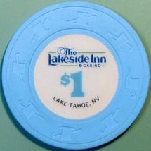 $1 Casino Chip. Lakeside Inn, Lake Tahoe, NV. V63. - $4.29