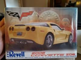 Revell 2006 Corvette Z06 1:25 Scale Model Kit...NIB!  HTF! - $27.71