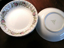 "Creative Fine China - Regency Rose 2345 - Japan - Fruit Bowl - 5.5"" - Vi... - $4.99"
