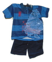 Disney Pirates Of The Caribbean Short Outfit 6 Boys New - $10.00