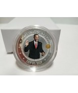 The President Obama Legacy Silver Proof Coin 99.9 Silver Plated Bradford... - $28.50