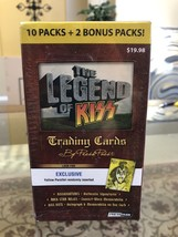 The Legend of Kiss Trading Cards by Press Pass~12 Pack Sld Box~Yellow or... - $15.00