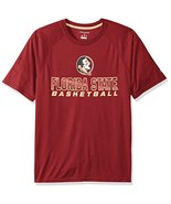 NCAA Florida State Seminoles Men's Impact T-Shirt, Medium, Garnet - $12.95