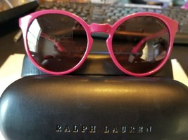 RALPH BY RALPH LAUREN RA5162 710/14 FUCHSIA RED WOMEN'S SUNGLASSES (54 MM) - $59.40