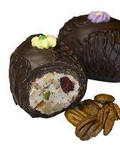 Philadelphia Candies Fruit and Nut Egg, Dark Chocolate 8 Ounce Gift Box - $13.81
