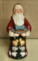 1996- LENOX Country Santas- 7in Resin Santa & Noahs Ark -NM - $12.86