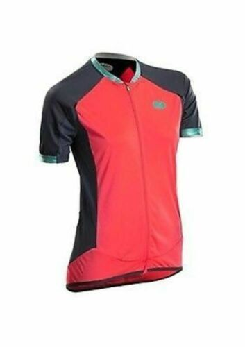 Medium Sugoi Women's Climber's Jersey Short Sleeve Cycling Full Zip Front