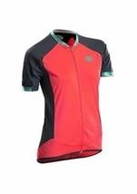 Medium Sugoi Women's Climber's Jersey Short Sleeve Cycling Full Zip Front