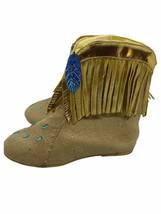 Disney Store Pocahontas Costume Boots Sz 9/10 Girls - $17.28