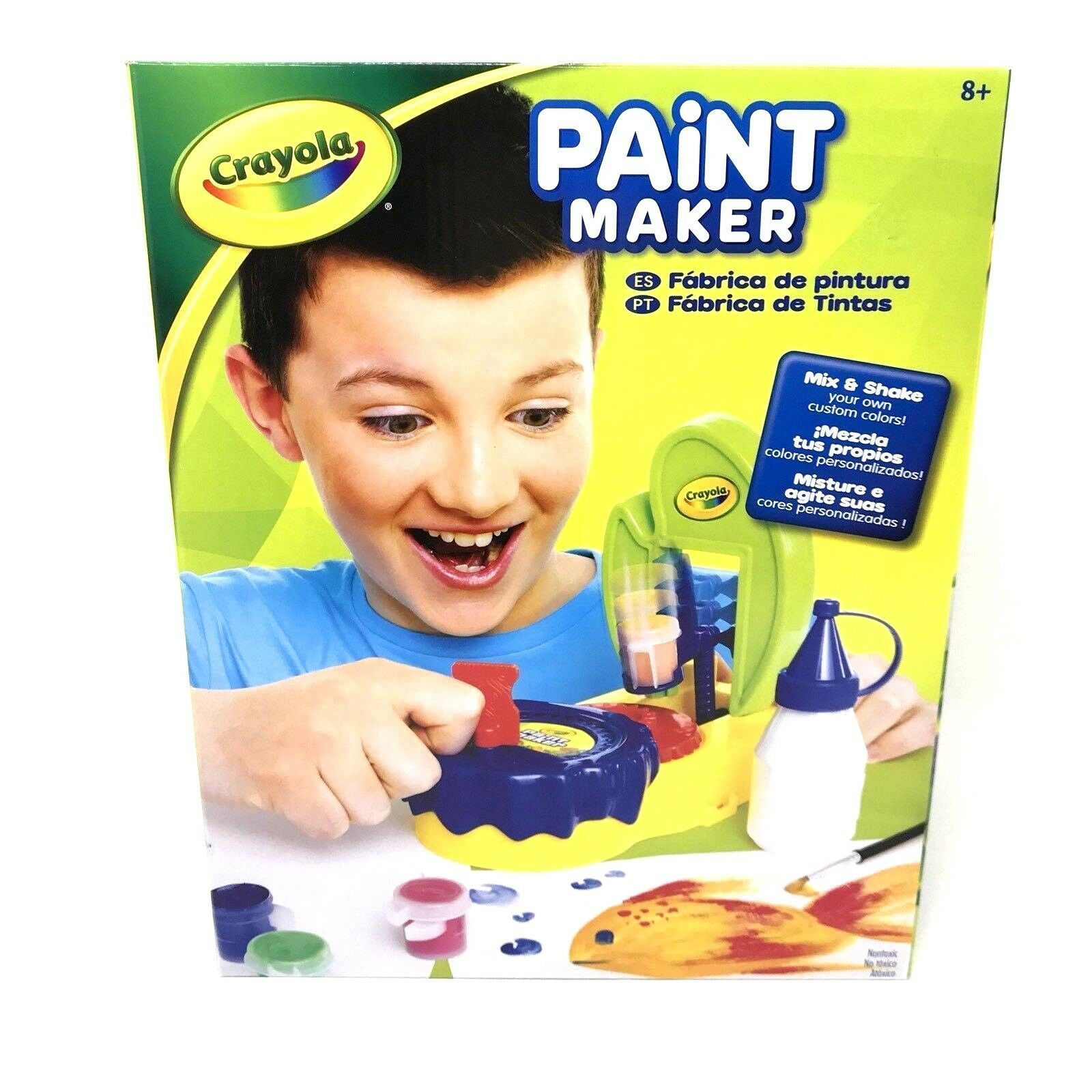 Crayola Paint Maker Activity Set Nontoxic Ages 8+ Arts and Crafts Kids - $56.19