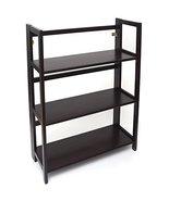 Lipper International 3 Shelf Bookcase Espresso - $128.77