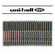 Uni-Ball Eye Fine UB-157 Rollerball Coloured Pens Assorted Colours Pack ... - $60.43