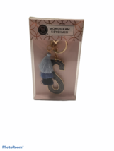 """Modern Expressions Monogram Keychain """"S"""" Blue Tassels New With Tags New ... - $5.65"""