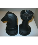 Chess Piece Bookends Black - $32.79