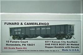 Funaro & Camerlengo HO  KCS All Welded Hopper-gondola Gondola Kit 6262 image 1
