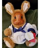 Kingdom Collectibles Betsy Ann Wood Faced Rabbit by Raikes Originals - $29.69