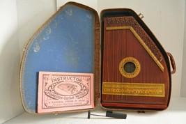 Vintage Oscar Schmidt Mandolin Guitar w/ Case, Instructor, Music, Spring... - $148.49