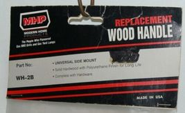 MHP WH2B Universal Side Mount Replacement Wood Grill Handle image 3